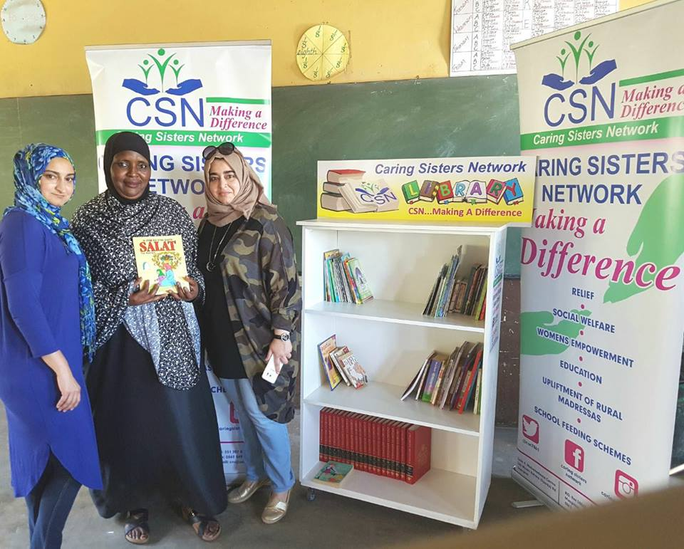 Caring Sisters Network launches our 4th Readers are Leaders Campaign.