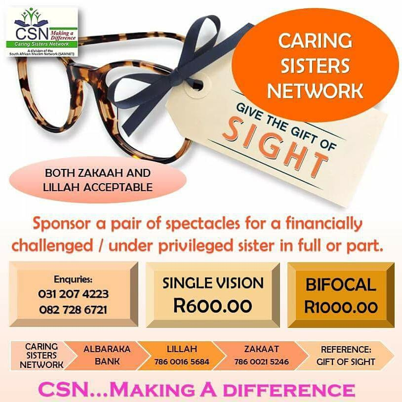 CSN GIFT OF SIGHT CAMPAIGN