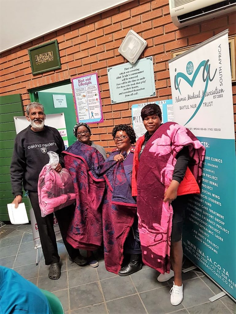 CARING SISTERS NETWORK MANDELA DAY INITIATIVE TOGETHER WITH THE ISLAMIC MEDICAL ASSOCIATION