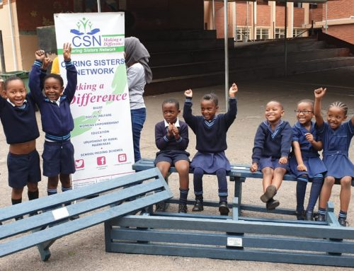 CARING SISTERS NETWORK DONATES BENCHES TO LOCAL SCHOOL