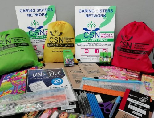 CARING SISTERS NETWORK STATIONERY DRIVE 2020