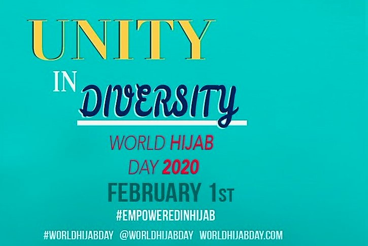 WORLD HIJAB DAY 2020 – UNITY IN DIVERSITY