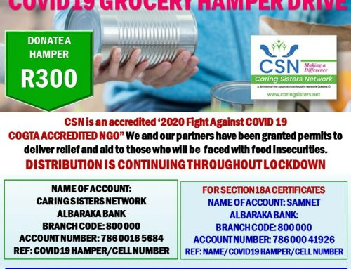 COVID-19 Food & Grocery Hamper Drive