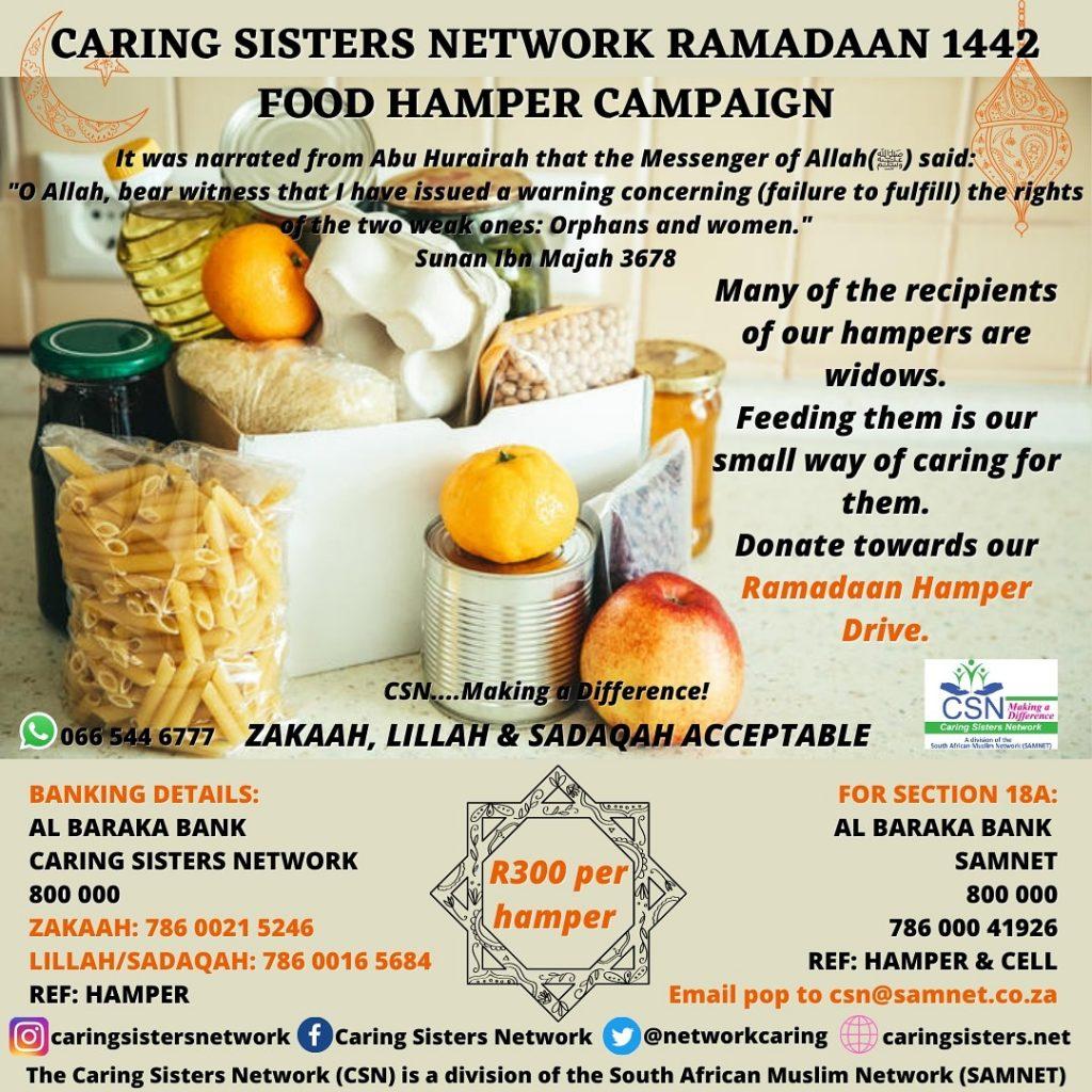 CSN RAMADAAN 1442 FOOD HAMPER CAMPAIGN 2021