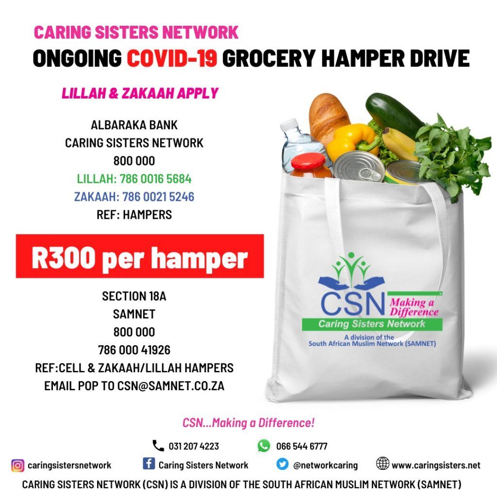 CSN Ongoing Covid-19 Grocery Drive